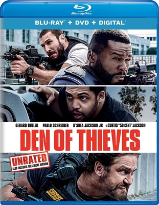 Den of Thieves 03/18 Blu-ray (Rental)