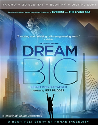 IMAX: Dream Big: Engineering Our World 4K UHD Blu-ray (Rental)