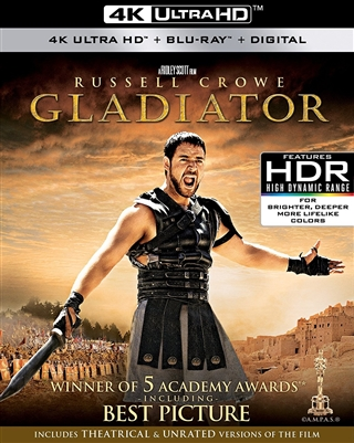 Gladiator 4K UHD Blu-ray (Rental)