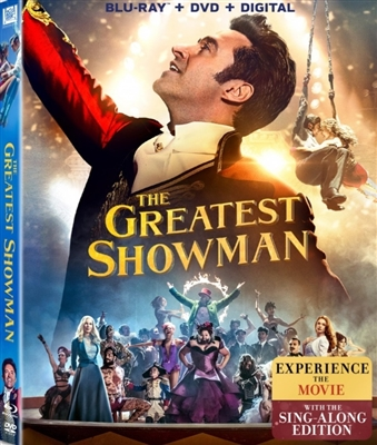 (Releases 2018/04/10) Greatest Showman 03/18 Blu-ray (Rental)