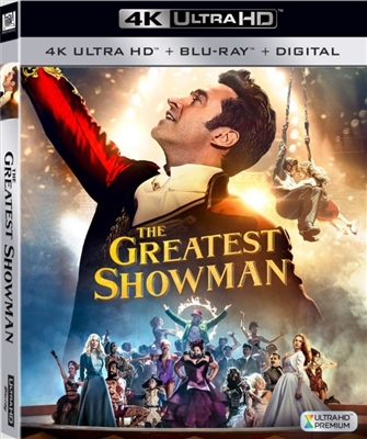 Greatest Showman 4K UHD Blu-ray (Rental)