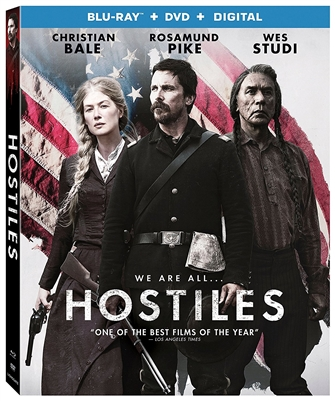 (Releases 2018/04/24) Hostiles 03/18 Blu-ray (Rental)