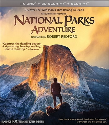 (Pre-order - ships 07/24/18) IMAX: National Parks Adventure 3D Blu-ray (Rental)