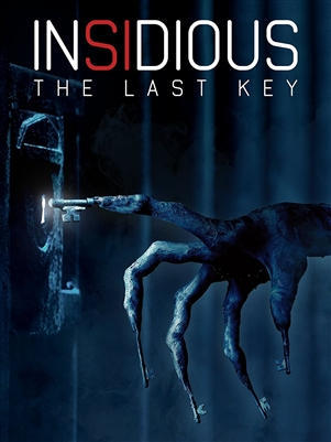 Insidious: The Last Key 03/18 Blu-ray (Rental)