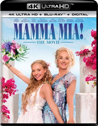 Mamma Mia! The Movie 4K UHD Blu-ray (Rental)