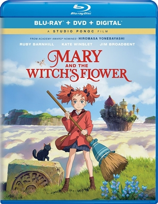 Mary and The Witch's Flower 03/18 Blu-ray (Rental)