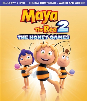 (Releases 2018/05/01) Maya The Bee 2: The Honey Games Blu-ray (Rental)