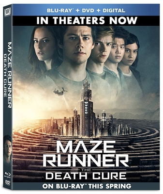 Maze Runner: The Death Cure 03/18 Blu-ray (Rental)