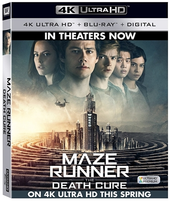 Maze Runner: The Death Cure 4K UHD Blu-ray (Rental)