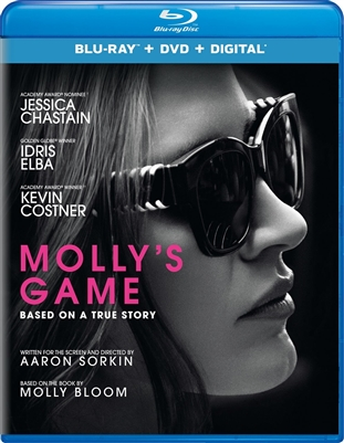 Molly's Game 03/18 Blu-ray (Rental)