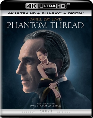 Phantom Thread 4K UHD Blu-ray (Rental)