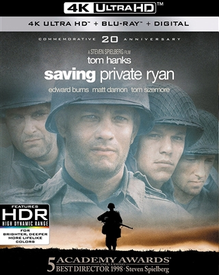 Saving Private Ryan 4K UHD Blu-ray (Rental)