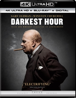 Darkest Hour 4K UHD Blu-ray (Rental)