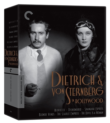 Dietrich and von Sternberg in Hollywood - Dishonored Blu-ray (Rental)