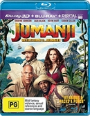 Jumanji: Welcome to the Jungle 3D Blu-ray (Rental)