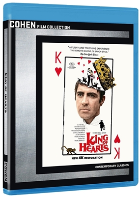 King of Hearts 05/18 Blu-ray (Rental)