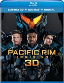 (Releases 2018/06/19) Pacific Rim Uprising 3D Blu-ray (Rental)