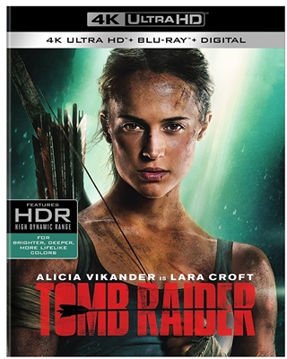 Tomb Raider (2018) 4K UHD Blu-ray (Rental)