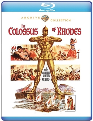 (Pre-order - ships 06/26/18) Colossus of Rhodes 1961 06/18 Blu-ray (Rental)