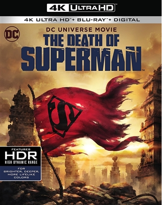 DCU: The Death of Superman 4K UHD Blu-ray (Rental)
