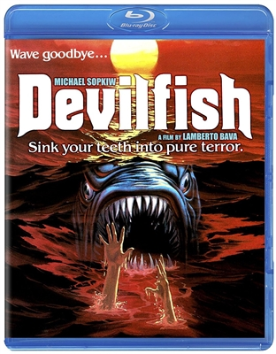 Devil Fish aka Monster Shark 06/18 Blu-ray (Rental)