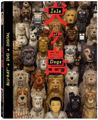 Isle of Dogs 06/18 Blu-ray (Rental)