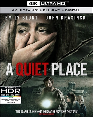 Quiet Place 4K UHD Blu-ray (Rental)