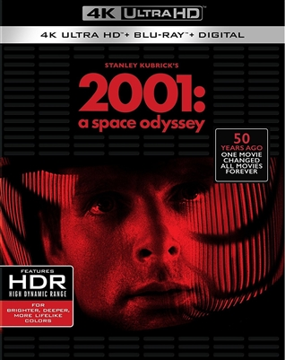 2001: A Space Odyssey 4K UHD Blu-ray (Rental)