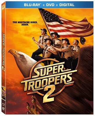 Super Troopers 2 06/18 Blu-ray (Rental)