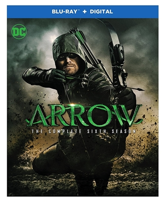 Arrow Season 6 Disc 1 Blu-ray (Rental)