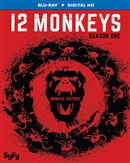 12 Monkeys Season 1 Disc 1 Blu-ray (Rental)
