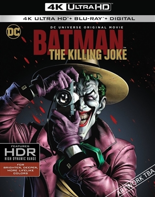 Batman: The Killing Joke 4K UHD Blu-ray (Rental)