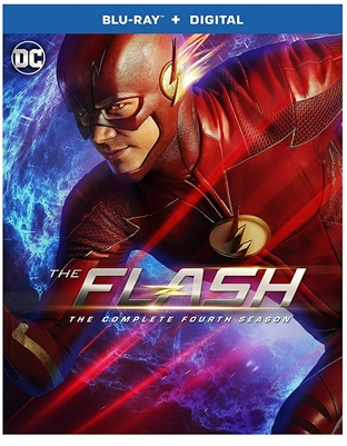 Flash Season 4 Disc 1 Blu-ray (Rental)