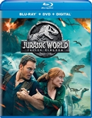 Jurassic World: Fallen Kingdom 07/18 Blu-ray (Rental)