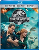 Jurassic World: Fallen Kingdom 3D Blu-ray (Rental)