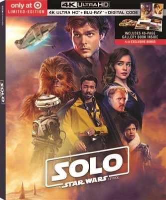 Solo: A Star Wars Story 4K UHD Blu-ray (Rental)