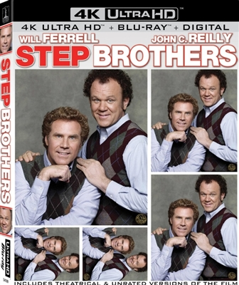 Step Brothers 4K UHD Blu-ray (Rental)