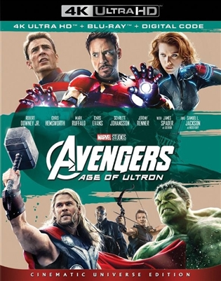 Avenger's Age of Ultron 4K UHD Blu-ray (Rental)