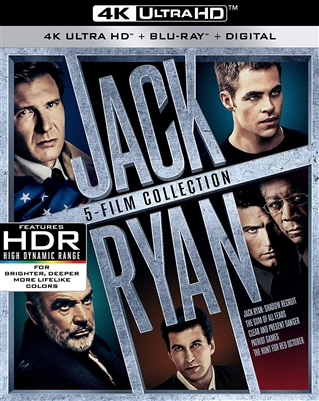 Jack Ryan Collection - Patriot Games 4K UHD Blu-ray (Rental)