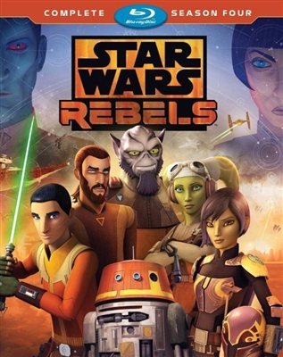 Star Wars Rebels Season 4 Disc 2 07/18 Blu-ray (Rental)