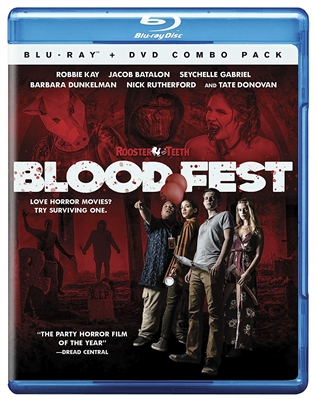 (Pre-order - ships 10/02/18) Blood Fest 08/18 Blu-ray (Rental)