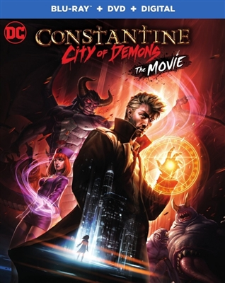 Constantine City of Demons 08/18 Blu-ray (Rental)