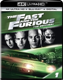 (Releases 2018/10/02) Fast and the Furious 4K UHD 08/18 Blu-ray (Rental)