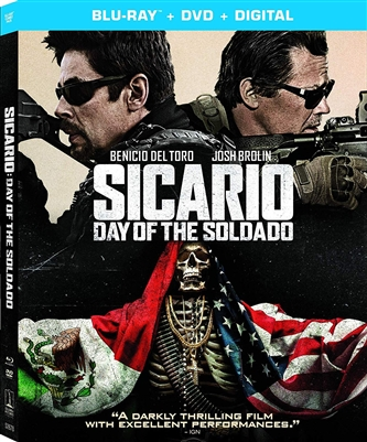 Sicario: Day of the Soldado 08/18 Blu-ray (Rental)