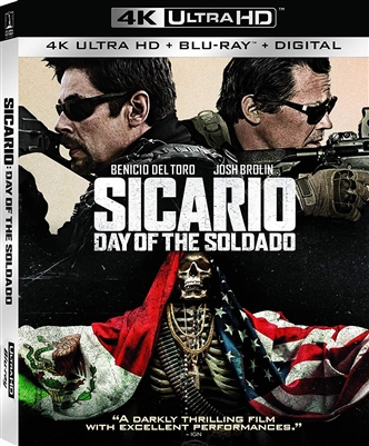 Sicario: Day of the Soldado 4K UHD Blu-ray (Rental)
