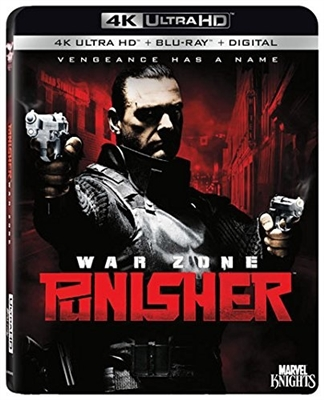 Punisher War Zone 4K UHD Blu-ray (Rental)