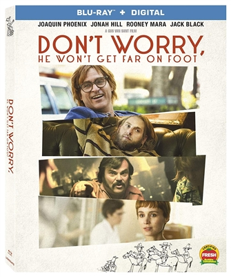 Don't Worry, He Won't Get Far On Foot Blu-ray (Rental)