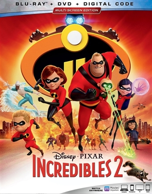 (Releases 2018/11/06) Incredibles 2 09/18 Blu-ray (Rental)