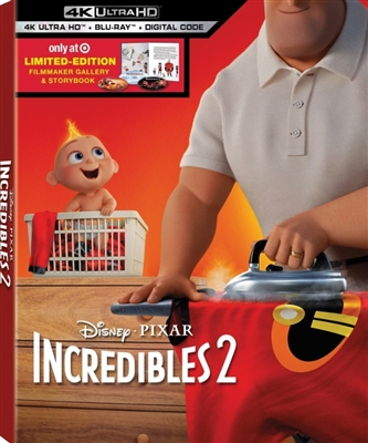Incredibles 2 4K UHD 09/18 Blu-ray (Rental)