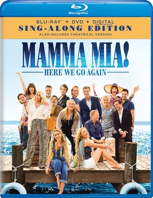 Mamma Mia! Here We Go Again 09/18 Blu-ray (Rental)